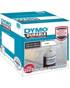 1933086 Dymo Durable Labels, 104x159mm rol á 200 stuks LW4XL