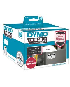 1933084 Dymo Durable Labels, 32x57mm rol á 800 stuks
