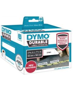 1933087 Dymo Durable Labels, 59x190mm rol á 170 stuks