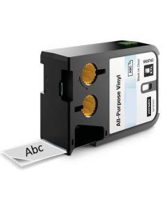 Dymo xtl vinyl tape transparant / clear 12mm 1868741