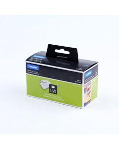 Dymo adresetiketten, 28 x 89 mm, geel/roze/blauw/groen 99011 / S0722380