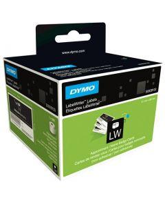 Dymo LabelWriter afspraakkaart of naamkaart (niet-zelfklevend), 89 x 51 mm, wit S0929100