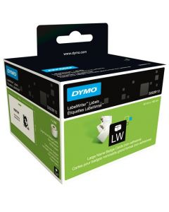 Dymo LabelWriter grote naamkaart (niet-zelfklevend), 106 x 62 mm, wit S0929110